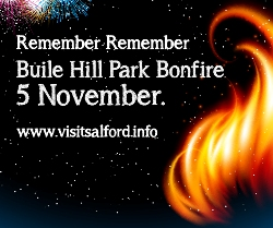 Buile Hill Park Bonfire Night