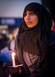 Candlelight Vigil for Human Rights Day