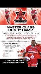 Master Class Rugby Camp at AJ Bell Stadium